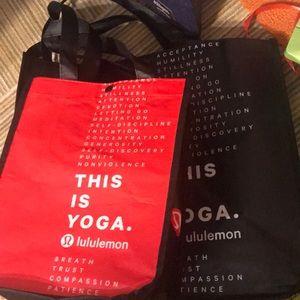 Lululemon Bags Set of 2